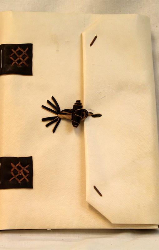 Curso encuadernación medieval
