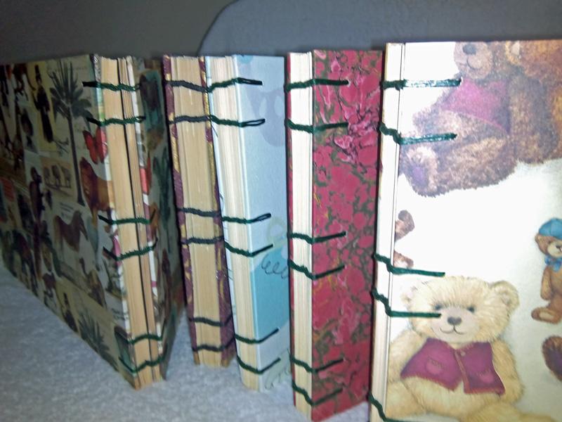 Curso encuadernación copta cuadernillos